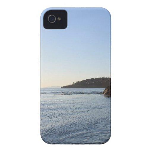Puesta del sol en el océano Case-Mate iPhone 4 carcasas