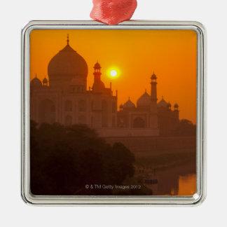 Puesta del sol en el Taj Mahal Adorno De Reyes
