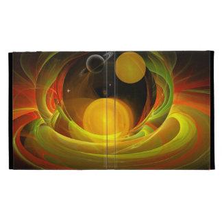 Puesta del sol en el universo, caso abstracto del