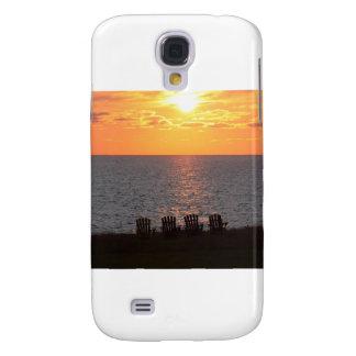 Puesta del sol en Isla del Principe Eduardo Funda Para Galaxy S4