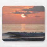 Puesta del sol en la costa de Oregon Alfombrillas De Raton
