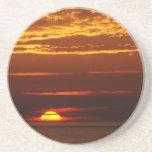 Puesta del sol en la costa oeste de Oporto Covo de Posavasos Diseño