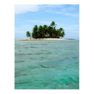 Puesta del sol en la gran barrera de coral postal