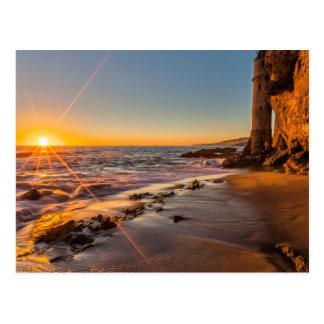 Puesta del sol en la playa 2 de Victoria Postal