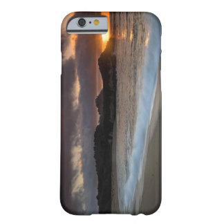 Puesta del sol en la playa del monasterio, Carmel, Funda Para iPhone 6 Barely There