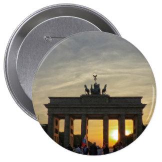 Puesta del sol en la puerta de Brandeburgo, Berlín