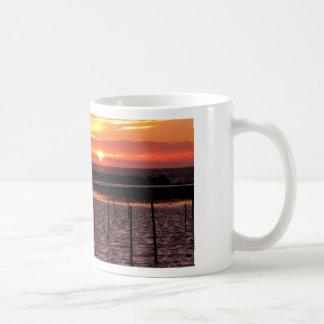 puesta del sol en la taza de Trelleborg