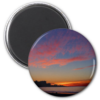 Puesta del sol en las orillas de La Jolla Imán Para Frigorífico