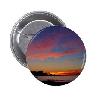 Puesta del sol en las orillas de La Jolla Pin