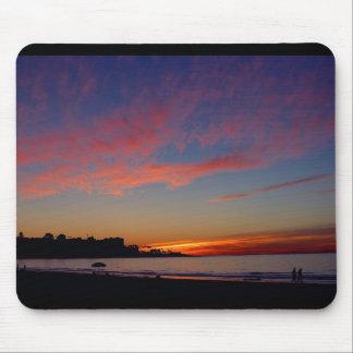 Puesta del sol en las orillas de La Jolla Alfombrilla De Raton