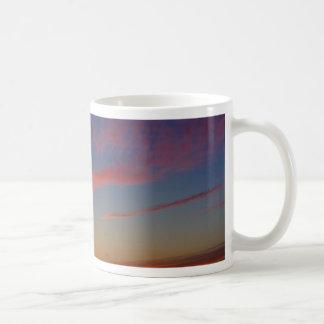Puesta del sol en las orillas de La Jolla Tazas De Café