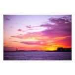 Puesta del sol en Nueva York Fotos