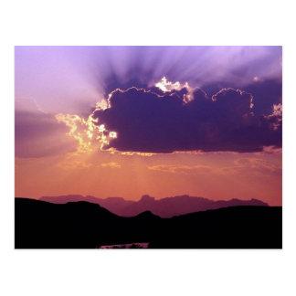 Puesta del sol en Rio Grande, parque nacional de l Postal
