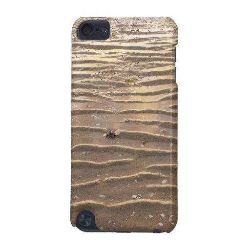 Puesta del sol en una marea baja funda para iPod touch 5G