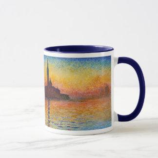 Puesta del sol en Venecia, Claude Monet