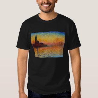 Puesta del sol en Venecia, Claude Monet Polera