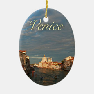 Puesta del sol en Venecia Italia Ornato