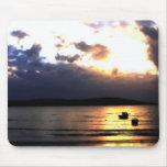Puesta del sol en Weston Tapetes De Raton