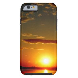 Puesta del sol funda de iPhone 6 tough
