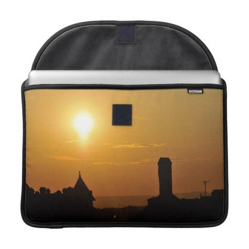 Puesta del sol funda para macbook pro