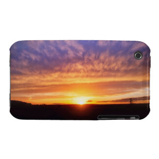 Puesta del sol gloriosa iPhone 3 Case-Mate funda
