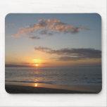 Puesta del sol hawaiana alfombrillas de ratones