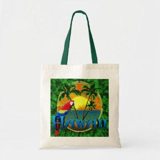 Puesta del sol hawaiana bolsa