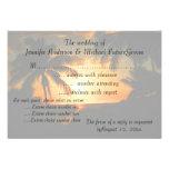 Puesta del sol hawaiana RSVP que casa la invitació