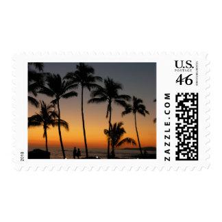 Puesta del sol hawaiana