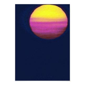 Puesta del sol hermosa: Bahía de Chesapeake, Invitación