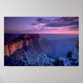 Puesta del sol hermosa: Gran Cañón, Arizona Posters