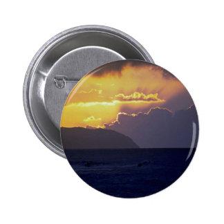 Puesta del sol hermosa: Orilla del norte, Oahu, Ha Pins