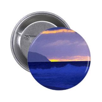 Puesta del sol hermosa: Orilla del norte, Oahu, Ha Pin
