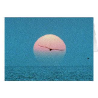 Puesta del sol hermosa: Virginia Beach, Virginia Tarjeta De Felicitación