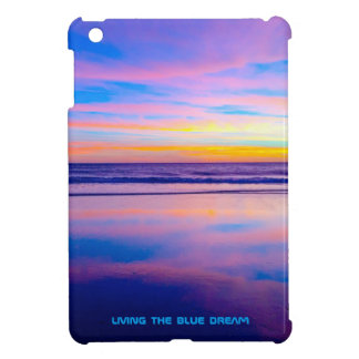 Puesta del sol ideal azul Santa Mónica
