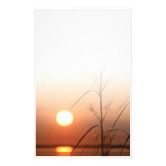 Puesta del sol - inmóvil  papeleria