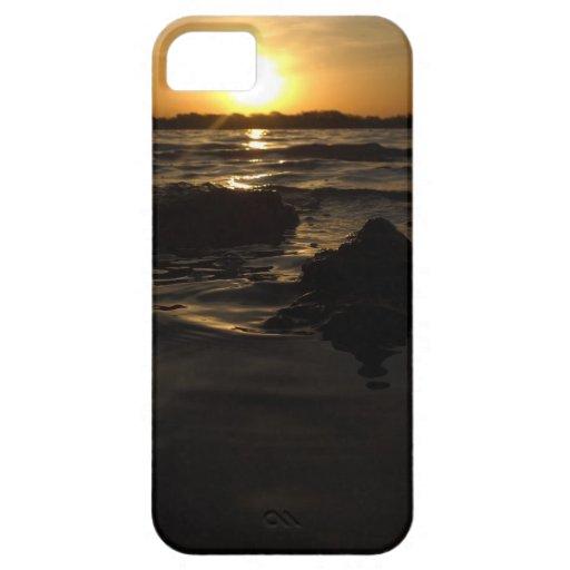 puesta del sol iPhone 5 Case-Mate carcasa