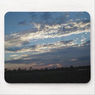 Puesta del sol Luisiana de Red River Alfombrilla De Ratón