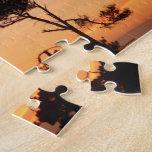 Puesta del sol majestuosa magnífica puzzles