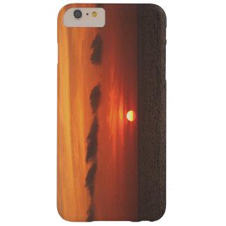 Puesta del sol mediterránea funda para iPhone 6 plus barely there