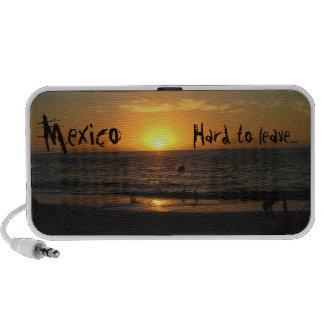 Puesta del sol mexicana; Recuerdo de México Portátil Altavoces