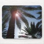 Puesta del sol Mousepad de la palmera de Los Ángel Alfombrilla De Ratón