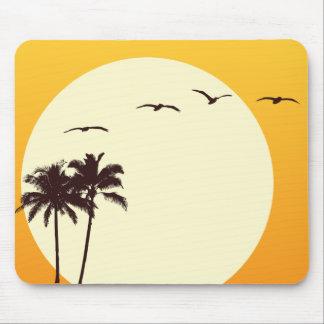 Puesta del sol Mousepad de SoCal