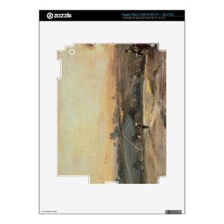 Puesta del sol otoñal pegatina skin para iPad 3