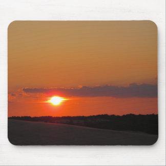 Puesta del sol Outer Banks Tapete De Ratón