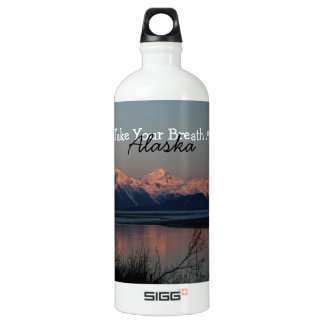 Puesta del sol pacífica; Recuerdo de Alaska