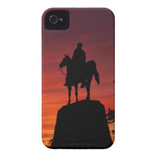 Puesta del sol - parque nacional de Gettysburg - Case-Mate iPhone 4 Funda