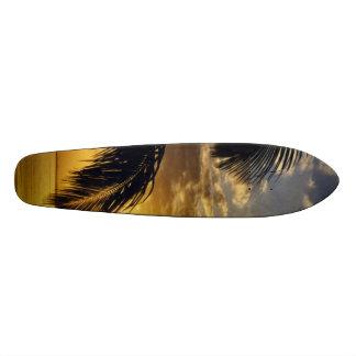 Puesta del sol patines personalizados