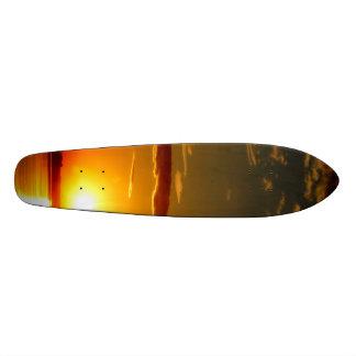 Puesta del sol skate boards