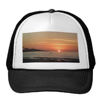 Puesta del sol perfecta gorras